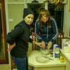 Bronwen and Rhonda make apple pie...