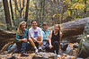 Me, Mary Lou Hartzler, Becky Felton, Mary Lou Cummings on a hike at Glen Onoko Falls, Jim Thorpe (back in the 90s)