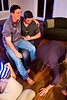 Rich with Biz getting his feet kissed - 2014-04-26