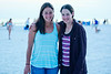 Margalit and Megan at the beach - 2014-07-18