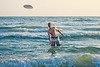 Alit frisbee in the water 1 - 2014-07-17