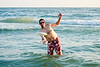 RobL frisbee in the water - 2014-07-17
