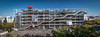 PARIS, FRANCE - SEPTEMBER 2014: Image of the Centre Georges Pompidou on September 12th 2014 in Paris, France.