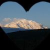 Another view from our latrine of the mountain (Denali) herself.  Denali National Park, Alaska, June 2012