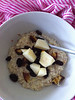 Feb 3 - millet, almond milk+meal, date, raisin, pear