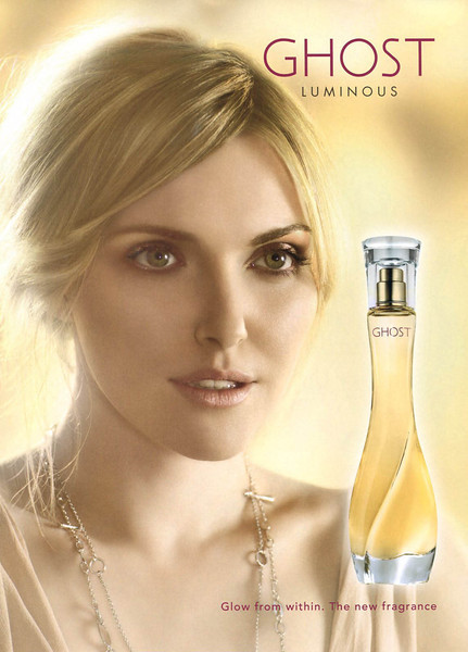 GHOST Luminous 2009 UK 'Glow from within. The new fragrance'
