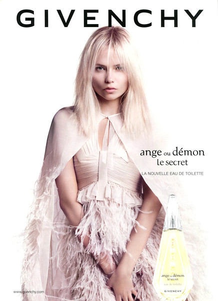 GIVENCHY Ange ou Démon Le Secret 2013 Belgium 'La nouvelle Eau de Toilette' MODEL: Natasha Poly (Russia), PHOTO: Inez & Vinoodh