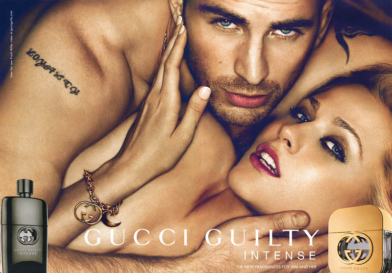 GUCCI Guilty Intense 2011 UK spread  'The new fragrances for him and her'