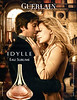 GUERLAIN Idylle Eau Sublime 2011 Russia handbag size format<br /> (vertical line in Russian right edge)<br /> MODELS: Nora Arnezeder & Thomas Dutronc, PHOTO: Paolo Roversi