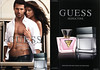 GUESS Seductive Homme 2011 US (recto-verso with scented strip)  'The new fragrance for men - Discover the new scents of seduction'' MODELS: Luca Loi (Italy) & Leticia Zuloaga (Spain), PHOTO: Alix Malka, LOCATION: Malibu, California