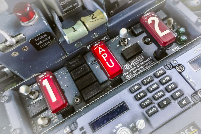 Cockpit Fire Switches