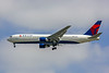 Delta Airlines, N1402A, Boeing 767-332, msn 25989, Photo by John A Miller, LAX, Image P040LGJM