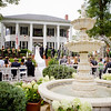 Ceremony at Victoria Belle Mansion