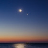 2014 3-27 Crescent Moon and Venus Monmouth Beach-98