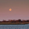 2013 3-28 Shrewsbury River Island Setting Moon-77