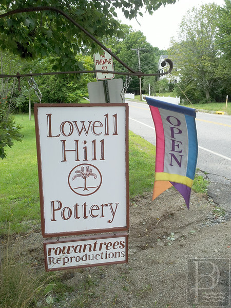 WP Lowell Hill Pottery Sign 082414 FD