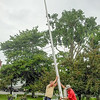 WP BH Town Hall Flag Pole 082414 FD