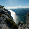 View of Lysefjord from Kjerag.