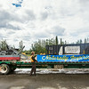 "Facility Services prepares the 2014 Golden Days float with the UAF Cornerstone.  <div class=""ss-paypal-button"">Filename: AKA-14-4248-6.jpg</div><div class=""ss-paypal-button-end""></div>"