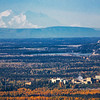 Mt. McKinley seems to loom over the Fairbanks campus from a distance of more than 100 miles away.