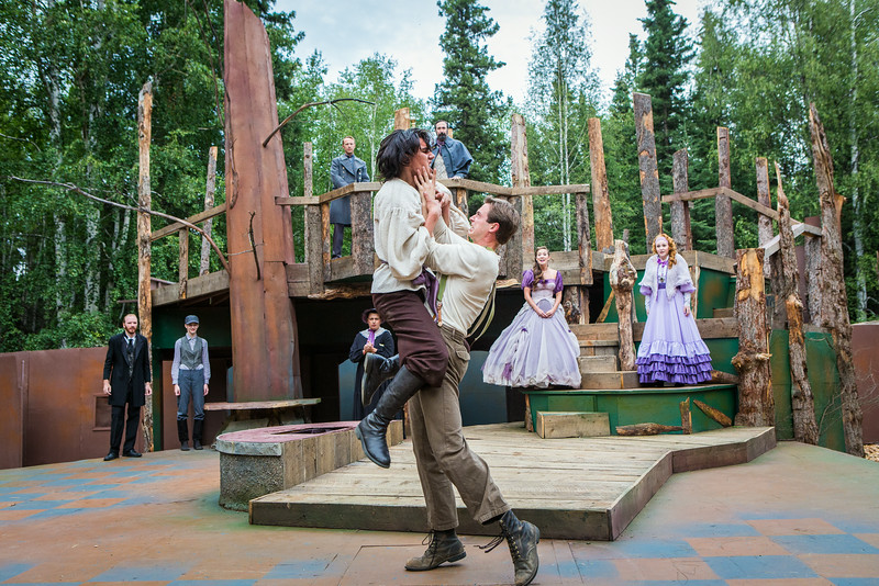 "The Fairbanks Shakespeare Theatre performs ""As You Like It"" in summer of 2014 at the Jack Townshend Point theatre on campus.  <div class=""ss-paypal-button"">Filename: AKA-14-4247-25.jpg</div><div class=""ss-paypal-button-end""></div>"