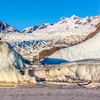 The Mendenhall Glacier near Juneau is one of Alaska's top tourist attractions.  Filename: AKA-14-4059-128.jpg