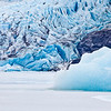 The Mendenhall Glacier near Juneau is one of Alaska's top tourist attractions.  Filename: AKA-11-2977-55.jpg