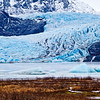 The Mendenhall Glacier near Juneau is one of Alaska's top tourist attractions.