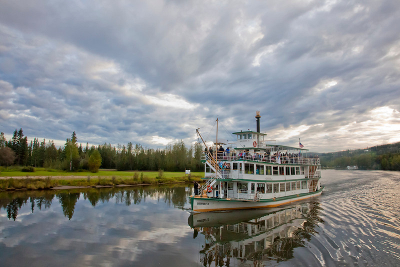 The Riverboat Discovery is one of the top tourist attractions in Fairbanks.