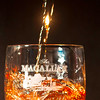 Pouring the Macallan
