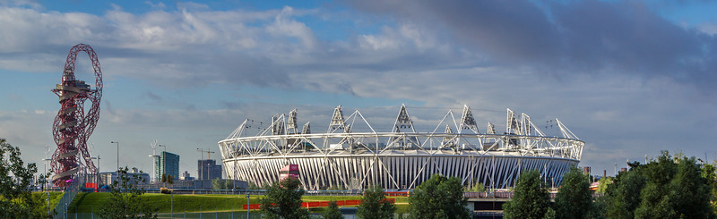 London Olympic Park Panoramic