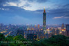 Elephant Mountain View of Taipei 101