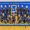 The 2013-14 Nanook rifle team poses for a group photo in the Patty Gym.  Filename: ATH-14-4091-18.jpg