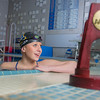 UAF's Bente Heller claimed the first national championship in the program's history, claiming the title in the women's 100 meter backstroke at the NCAA Div II championships in Birmingham, AL.  Filename: ATH-13-3758-71.jpg
