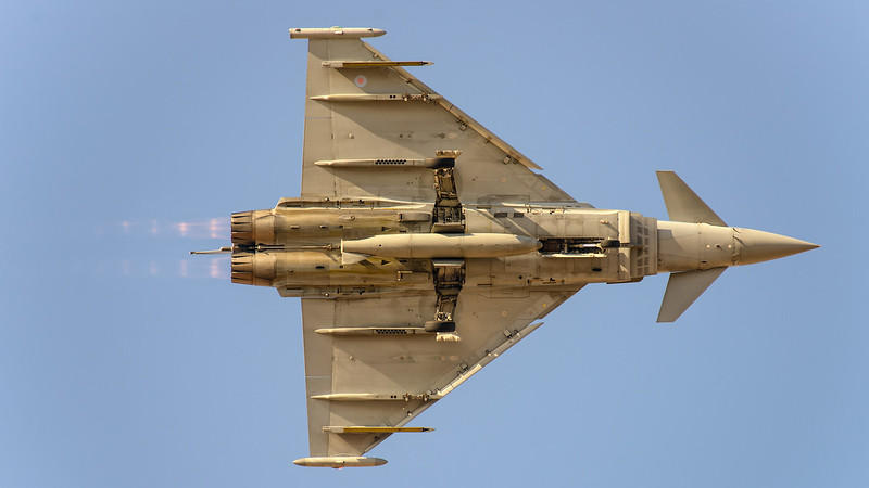 RAF Typhoon Eurofighter