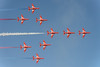 Red Arrows, Royal Air Force Jet team, Concorder formation