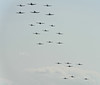 """Balbo"", mass formation of 22 warbirds"