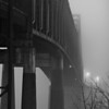 Tobin Bridge in Fog III