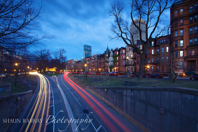 Rush Hour on Commonwealth Avenue
