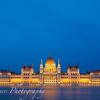 Hungarian Parliament in Blue Hour