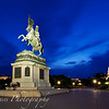 Heroes' Square at Blue Hour, Vienna