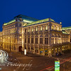 Vienna State Opera in Blue and Gold