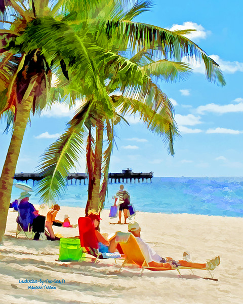 Day at the Beach, Lauderdale-By-The-Sea, Fl.
