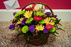 A bunch of assorted flowers on a basket  © Copyright Hannah Pastrana Prieto