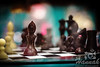 Chess made of chocolates<br /> <br /> © Copyright Hannah Pastrana Prieto