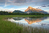Mt  Rundle Sunset