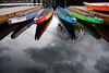 Canoes in Vancouver