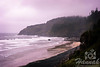 View of Cape Meares located in the Oregon Coast shot on a gloomy and rainy day<br /> <br /> © Copyright Hannah Pastrana Prieto