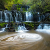 Purakaunui Falls, Catlins, South Island, New Zealand
