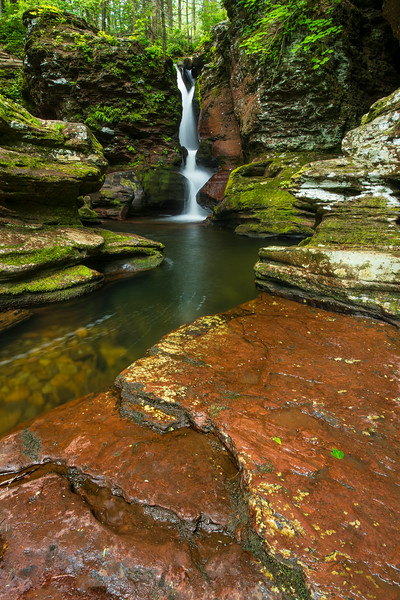 "<center><br><font size=""4"" color=""white""><b>""Adam-azing"" - Ricketts Glen State Park, PA</b><br> </font> <br><font size=""3"" color=""white""> <u>Recommended Print sizes*</u>:<br>  4x6  